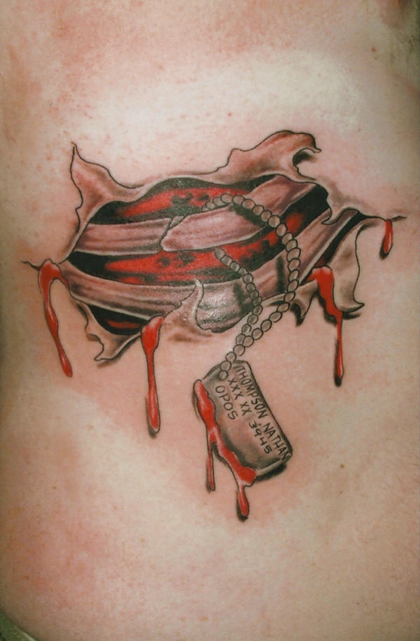 Meat tags by jodea on deviantart for Meat tag tattoo