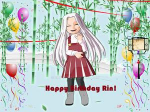 Happy birthday CodeBlackRin!
