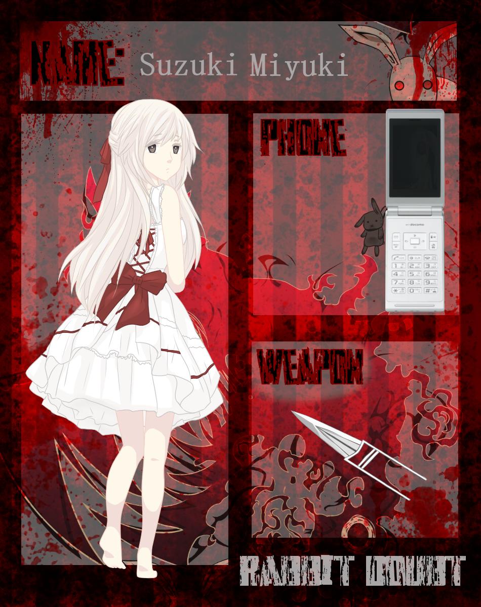 Rabbit Doubt - Suzuki Miyuki by Miitu-chan