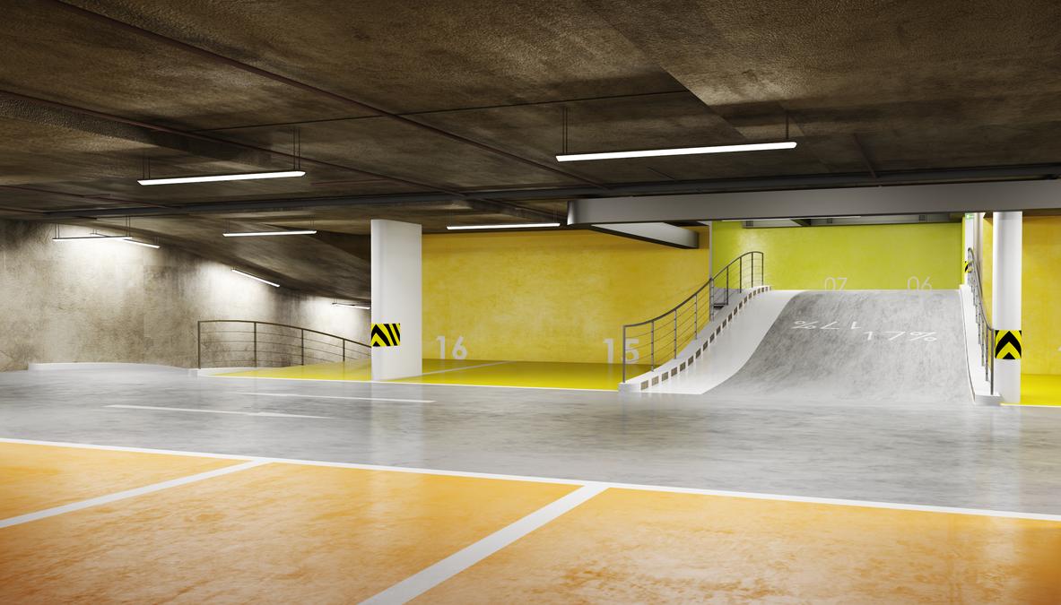 Underground Parking Concept By Zjic On Deviantart