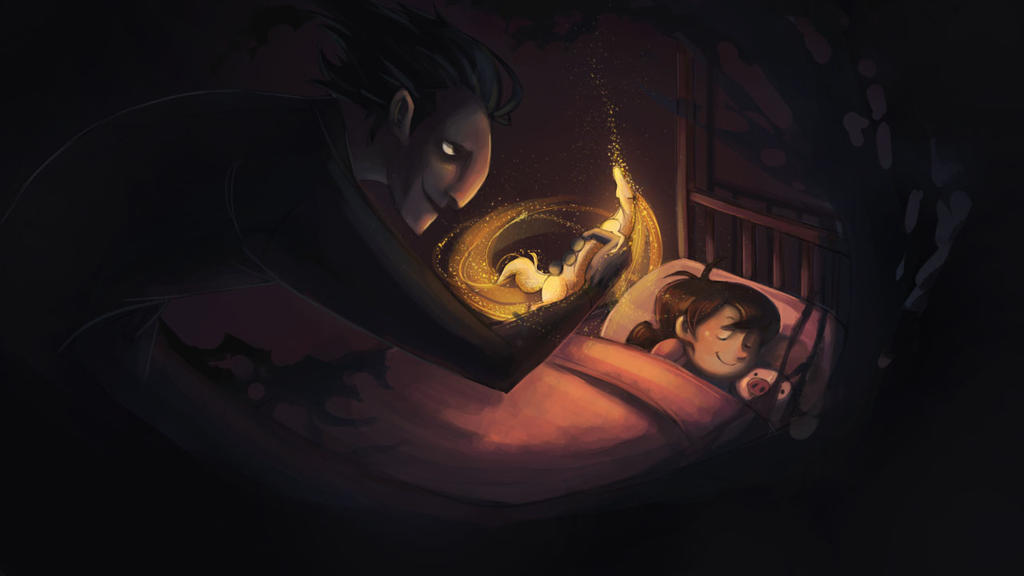 Pitch Steals a Dream by SoupyTheOctopus