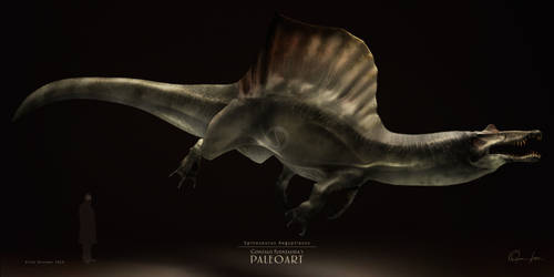 Spinosaurus Aegyptiacus by Gonzalo-Fuenzalida