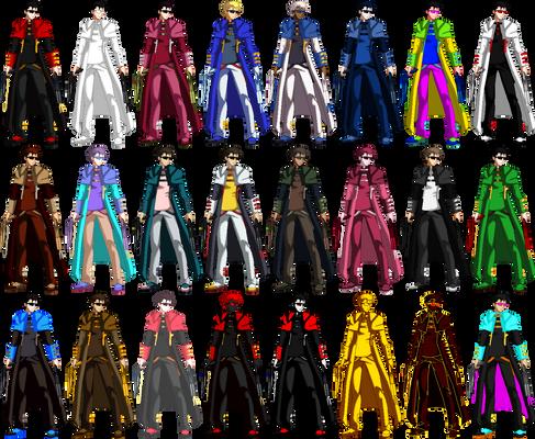 Gerard Gunsmith - Color Palette