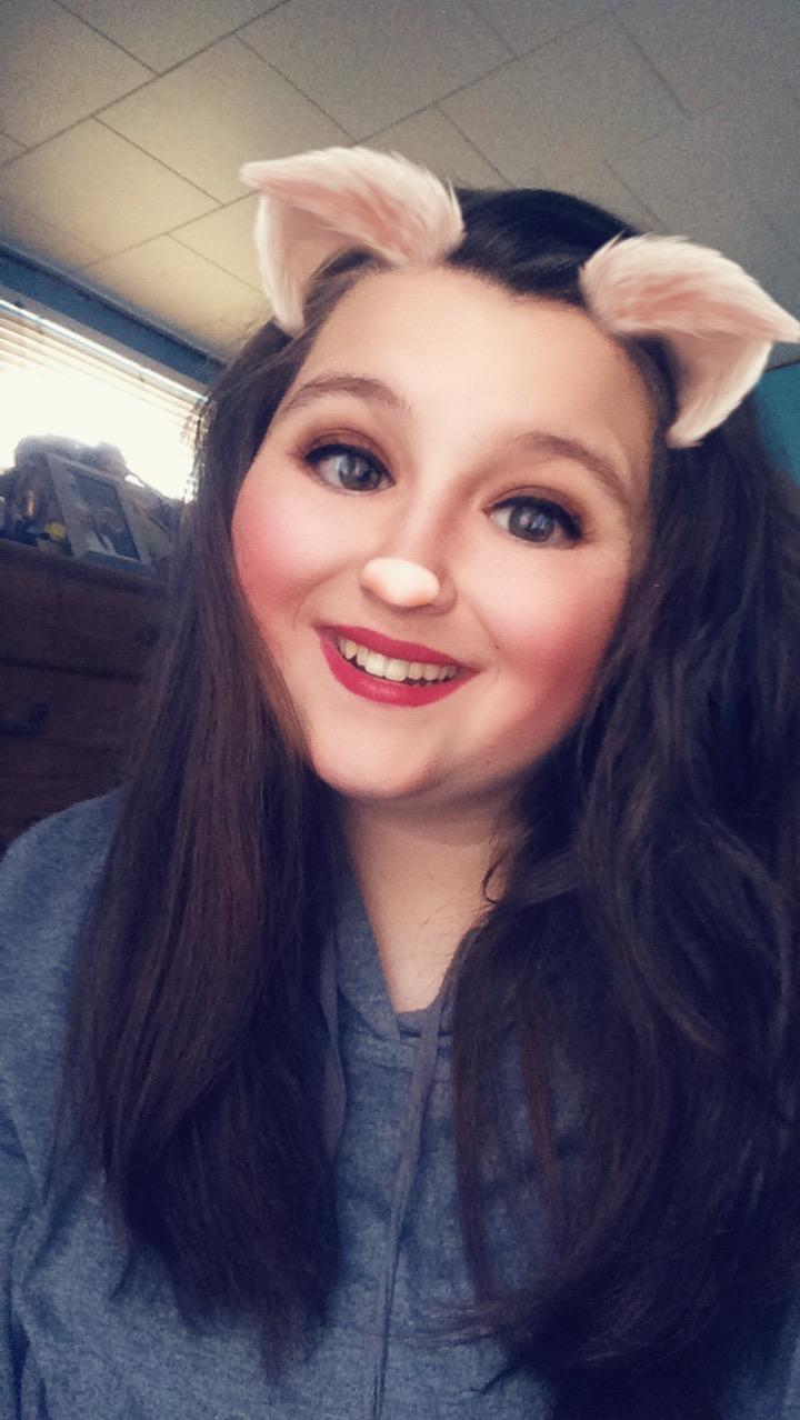 Random Snapchat Selfie by Nerds14