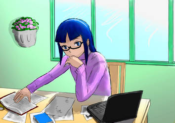 Daily Life (Umika Misaki) by Gurani