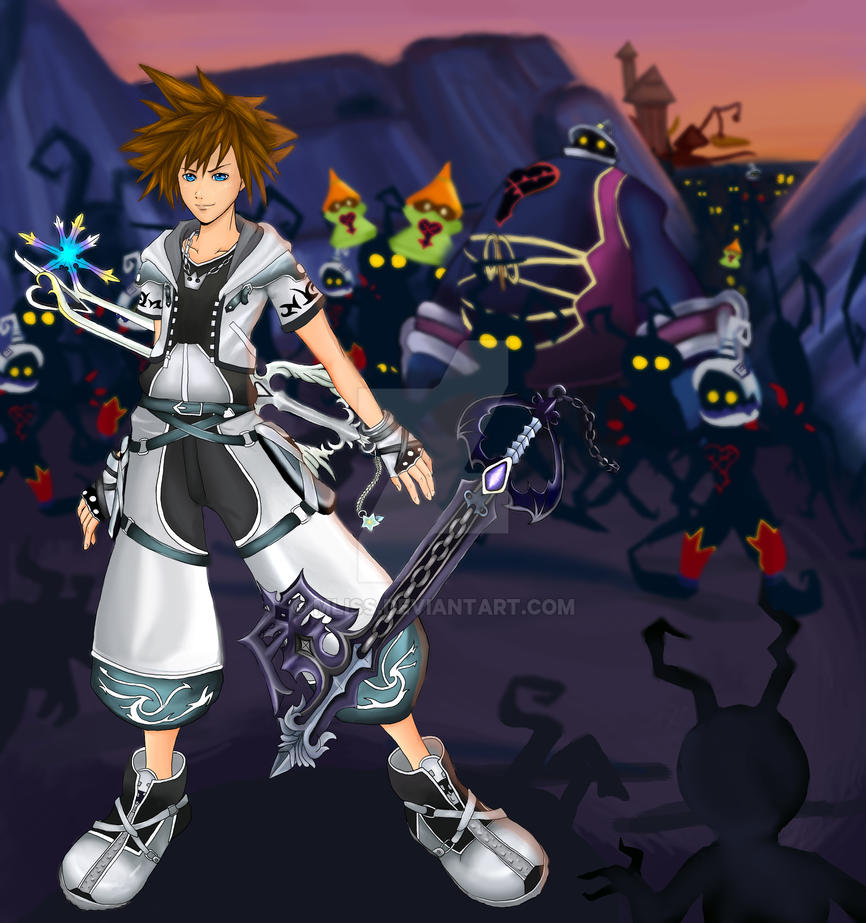 Sora Kingdom Hearts Image 745376: Kingdom Hearts: Sora By Mliss On DeviantArt