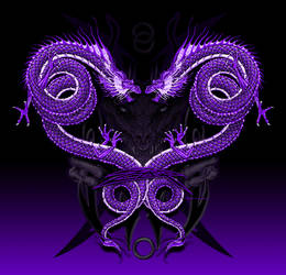 Serpents Dragon Heart Demon by KylerSharp
