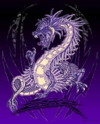 Dragon rared by KylerSharp