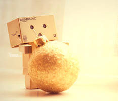 Danbo's working for Xmas... by magggg