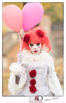 I'm Pennywise, the dancing clown