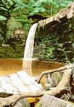 Welsh Waterfalls at Ystradfellte - watercolours
