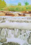 Waterfalls at Llanbedr, Wales