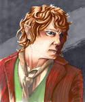 Bilbo Baggins The Hobbit - Promarkers by GeeMassamArt