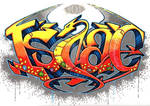 Hobbit Smaug Graffiti - Promarker Tutorial by GeeMassamArt