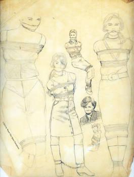 Bondage Tracings 3 - 1980's fashion