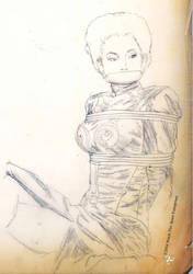 Bondage tracings 5 - Dragon Lady