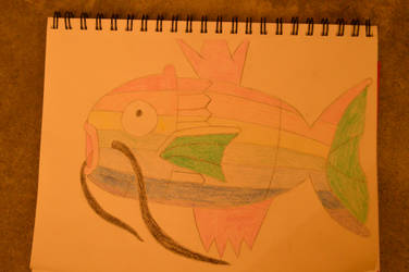 Rainbow Magicarp by charizard-can-die