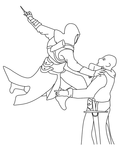 Random Assassins Creed Lineart By Maalni On Deviantart