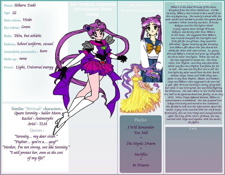 Red Full Moon Wallpaper OC Meme Sailor Univers...