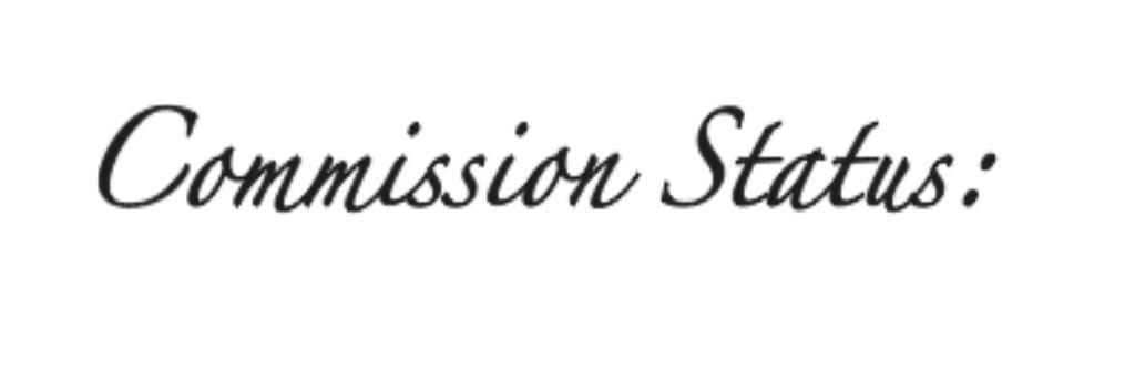 Commission-Status by Nausinesaa