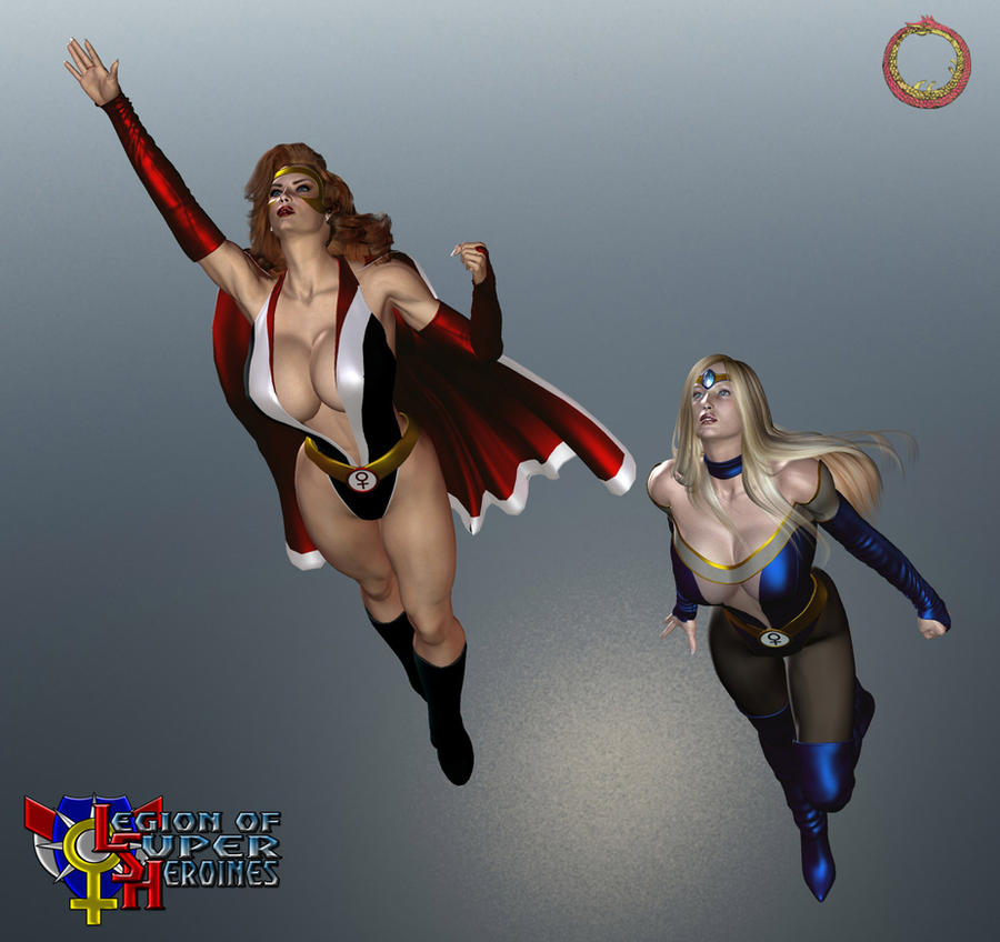 Red and Blue Venus by Uroboros-Art