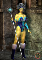 Evil-Lyn - Masters of the Universe by Uroboros-Art