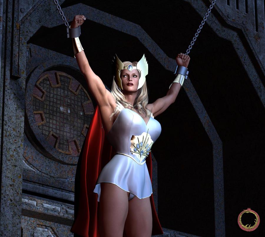 She-Ra held prisoner by Uroboros-Art