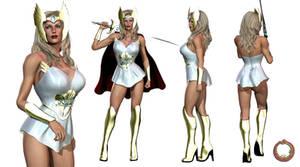 She-Ra character sheet