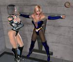 Blue Venus in trouble by Uroboros-Art
