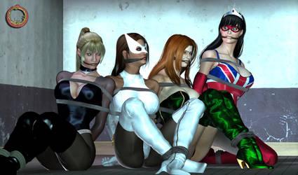 Captured heroines