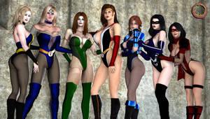 Legion Girls Pinup