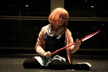 Beyond the Boundary (Koyokai  no Kanata)- Mirai by FRAMEICON