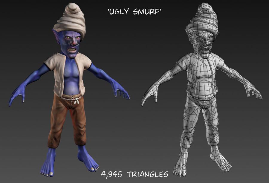 Ugly smurf