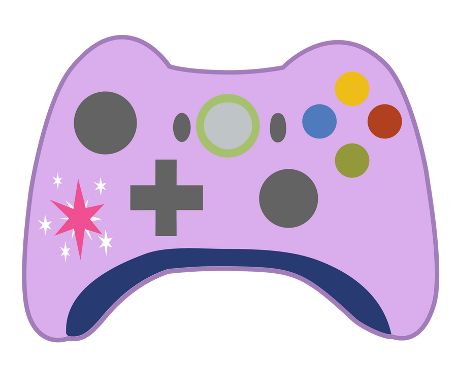 Xbox 360 Controller Drawing Twilight Sparkle XBOX