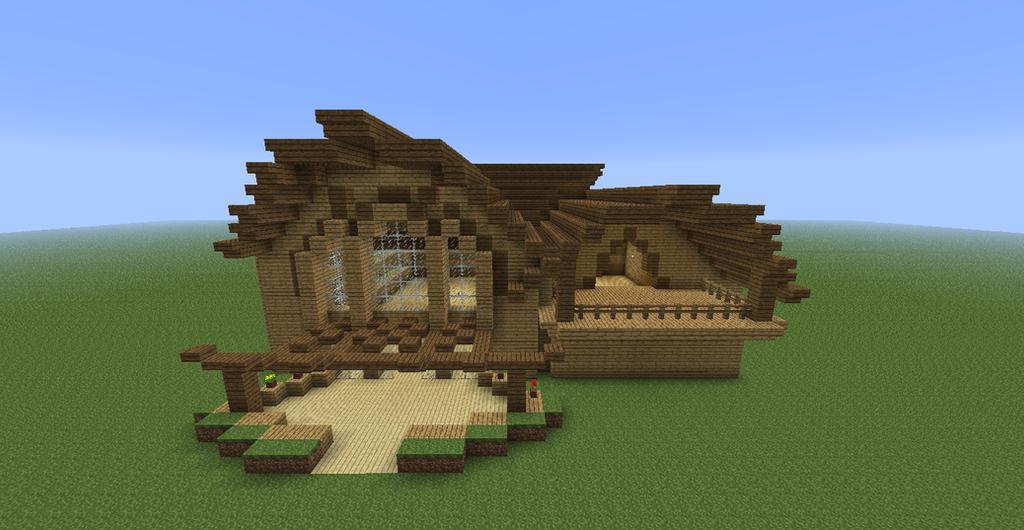 Minecraft Cottage By Session16 On Deviantart