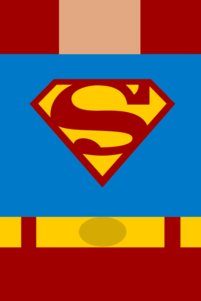 Superman iphone wallpaper by karate1990