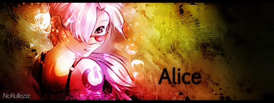 Alice Sign by NoRullezzz
