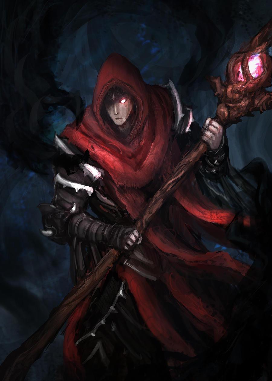 Exiled Warlock by Vaig