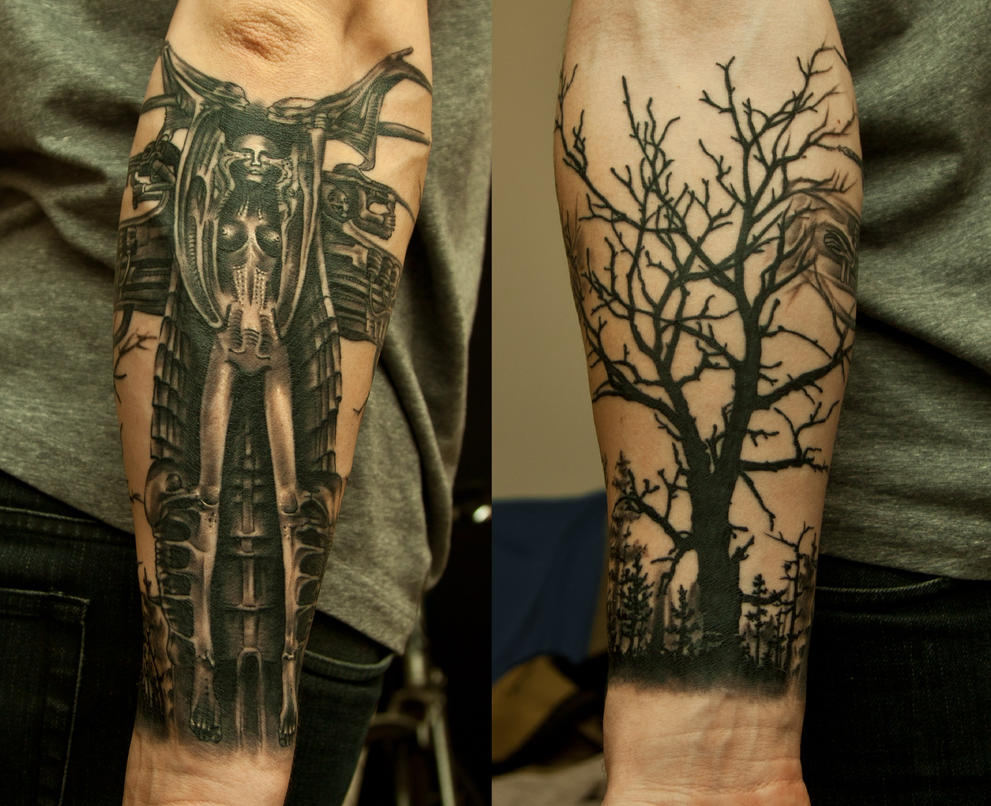 H.R. Giger by Janels on DeviantArt H.r. Giger Tattoo