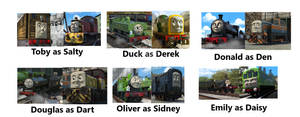 Thomas Diesels of Sodor Part 2