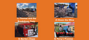 Thomas and the Breakdown Train DVD Page 1