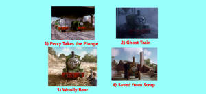 Percy Takes the Plunge DVD Page 1