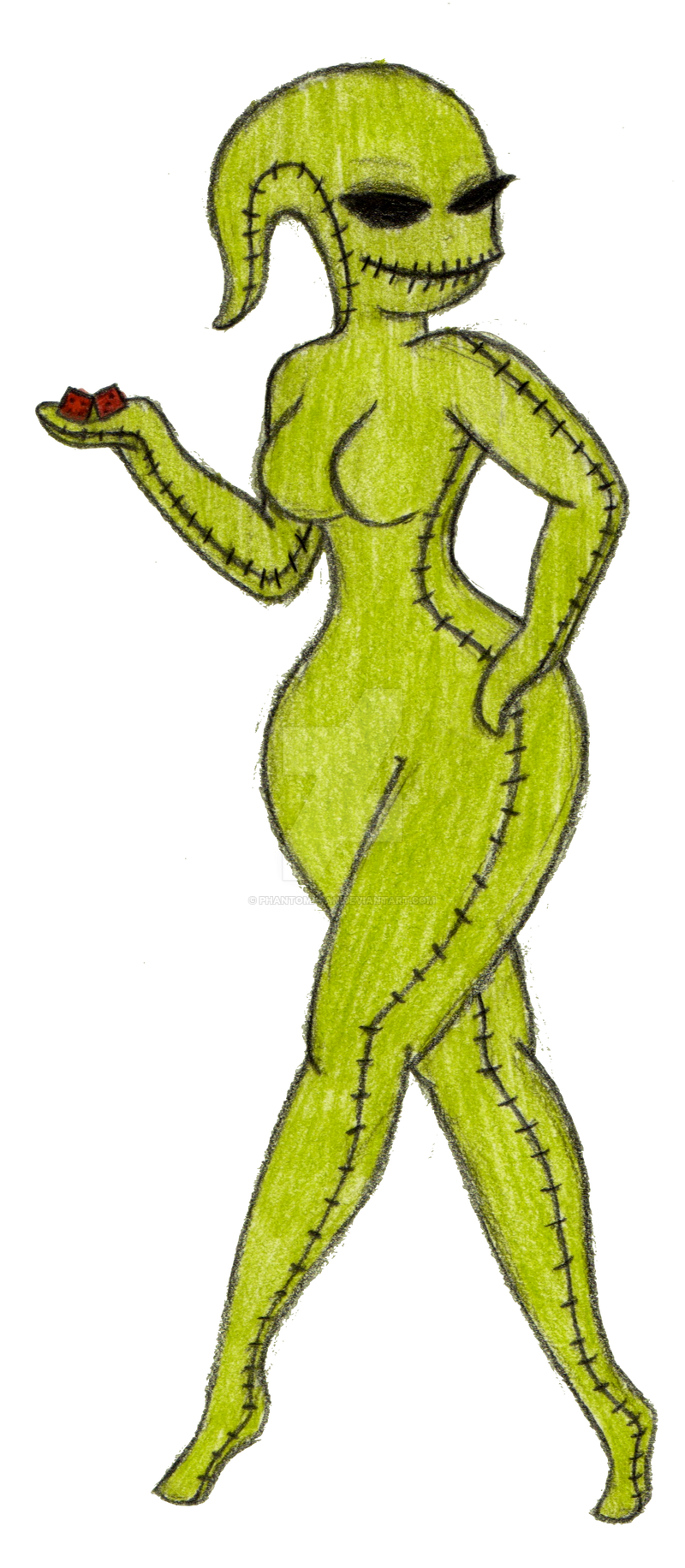 Oogie Boogie Tattoo Oogie Boogie Babe by