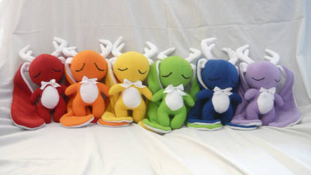 Rainbow Jackalope Collection by PhantomxFan