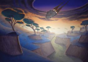 Some alien landscape