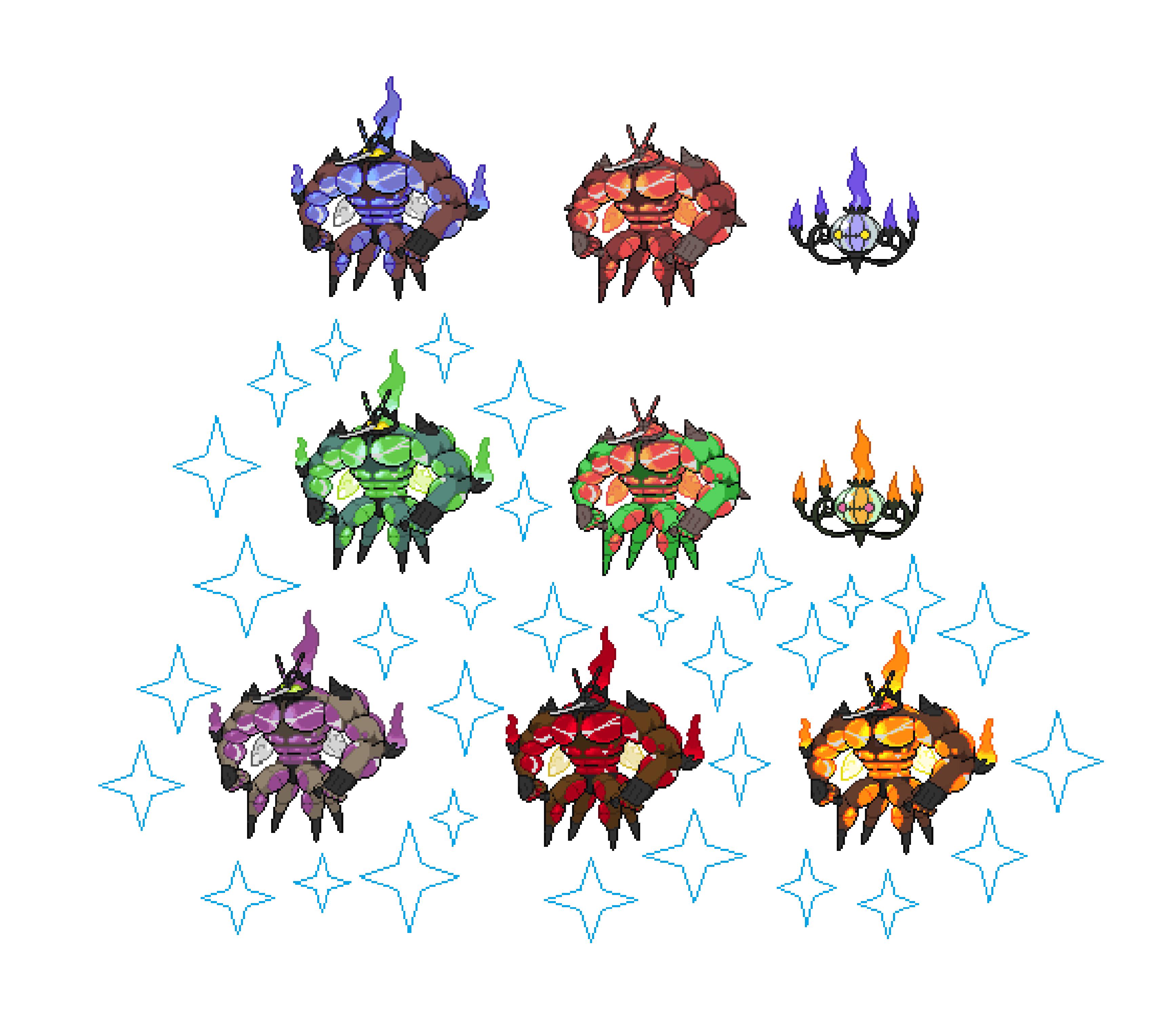 Pokemon Sprite Fusion 7: UB-Leech by Deepzekrom on DeviantArt