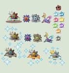 Pokemon Sprite Fusion 28: Kressinie