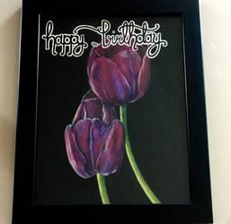 Birthday Tulips by cantalo-upes