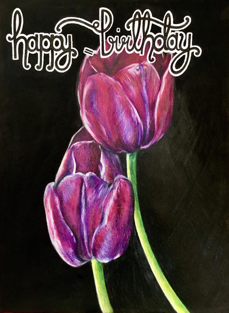 Birthday Tulips (repost) by cantalo-upes