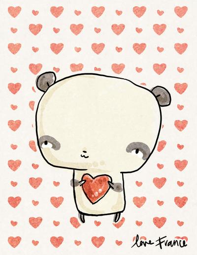 Charity Print: LovePanda by guava